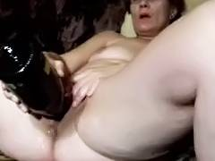 Bottle, Bottle, Cunt, Huge, Masturbation, Mature