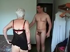 Facial, Drilled, Facial, Granny, Mature