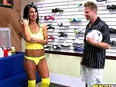 hot milf loves soccer