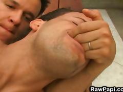 Latino Having A Hard Bareback At The Pool porn tube video