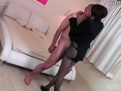Feet, Feet, Fetish, Footjob, Nylon, Pantyhose