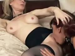 Fetish Lesbian Babes Nina and Satine tube porn video