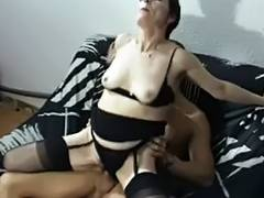 Mature hairy Latina screwed in all holes tube porn video