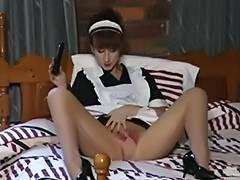French Maids In short tube porn video