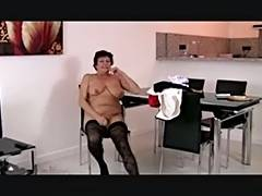 Casting, Audition, Casting, Granny, Mature, Interview