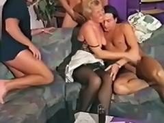 90's German Granny Acquires It MMMF 4Way tube porn video