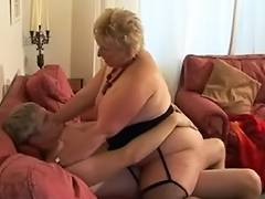 Blond Shorthair big beautiful woman Granny by juvenile Lad tube porn video