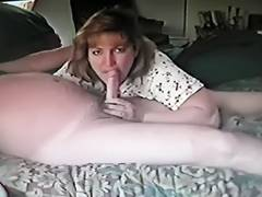Brother, MILF, Wife, Sucking, Brother