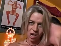 German milf invites people for group sex