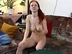 Solo Masturbation Series Great Boobs German