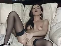 British wench Jessica plays with herself in various scenes