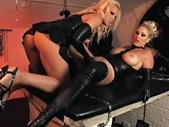British Lesbos Michelle and Frankie in lesbo act porn tube video