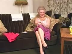 Delightsome Curly Old Granny Fingering Intro tube porn video