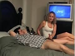 Shannon Cock Sock Cum and Cook Jerking