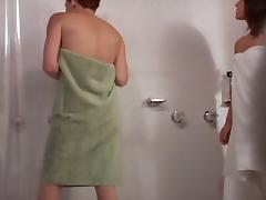 Voyeur girls taking shower