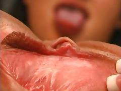Naudia Nyce Showes Her Tight Pussy And Masturbates