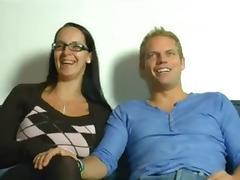 Hot mom n152 brunette german mature milf in threesome tube porn video