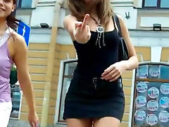 A gorgeous outdoor upskirt with a cute beauty tube porn video