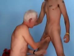 old man young man and woman bi tube porn video