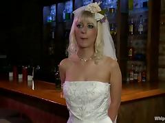 Cherry plays lesbian games with her GFs at a hen party