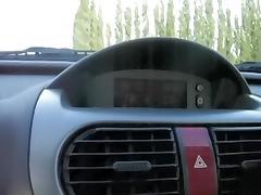 Oral Pleasure in the car