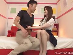 Missionary and Doggystyle Fucking and Creampie for Japanese Girl