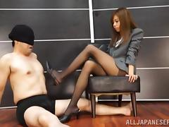 Boss, Asian, Boss, Couple, Domination, Fetish