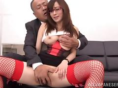 Boss, Asian, Banging, Boss, Couple, Fingering