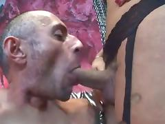 Busty Tlady Hot Mutual Fuck with Guy