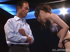 Erina Fujisaki gets fucked doggy style in her beautiful lingerie