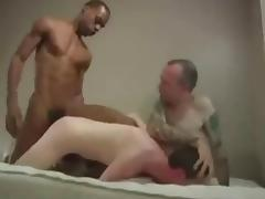 Back And White Cocks Cum Inside Guys Ass porn tube video