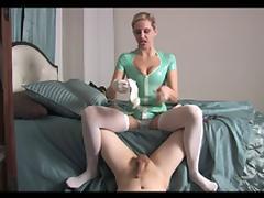 Handjob tube porn video