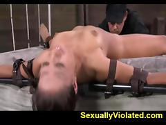 Rag doll Jynx fucked and suspended pt 1