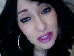 More lipstick. JOI tube porn video
