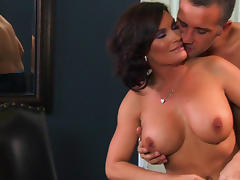 Hardcore milf fuck in the office after work