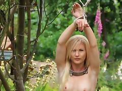 tight in the garden porn tube video