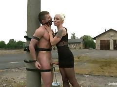 Bondage, BDSM, Bondage, Femdom, Strapon, Mask