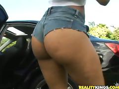 Slutty Latina Chyanne Jacobs Riding and Sucking Cock Outdoors porn tube video