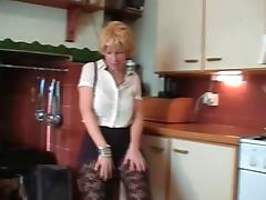 British Blonde Mature Does Striptease And Toys Her Pussy tube porn video