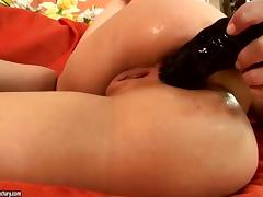 Masturbating with Kathia