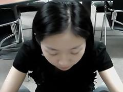 Asian hotty can't live out of to take it deep