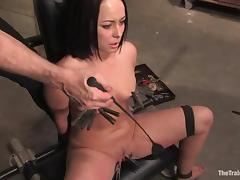 Alexa Von Tess gets dominated by Aiden Starr and her friend