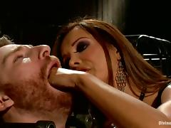 Dominant Slut Francesca Le Doing Everything with Submissive Guy tube porn video