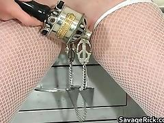 Dirty blond MILF Erica gets tied part5