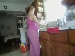 Kitchen Doggy Position Quickie tube porn video