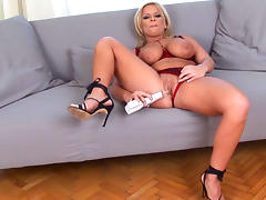 All, Babe, Big Tits, Blonde, Lingerie, MILF