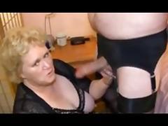 granny fucks a tranny tube porn video