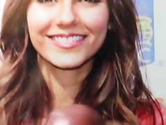 Victoria Justice Cum Tribute Bukkake No. 5 porn tube video