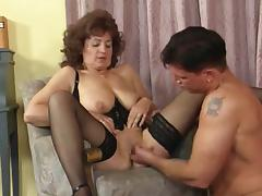 Grandma Plays in Nylons 1