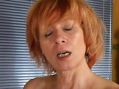 Redhead Masturbation Home tube porn video